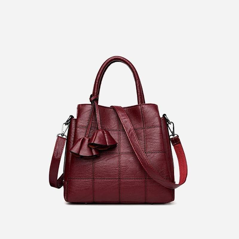 sac-bandouliere-femme-cuir-rouge
