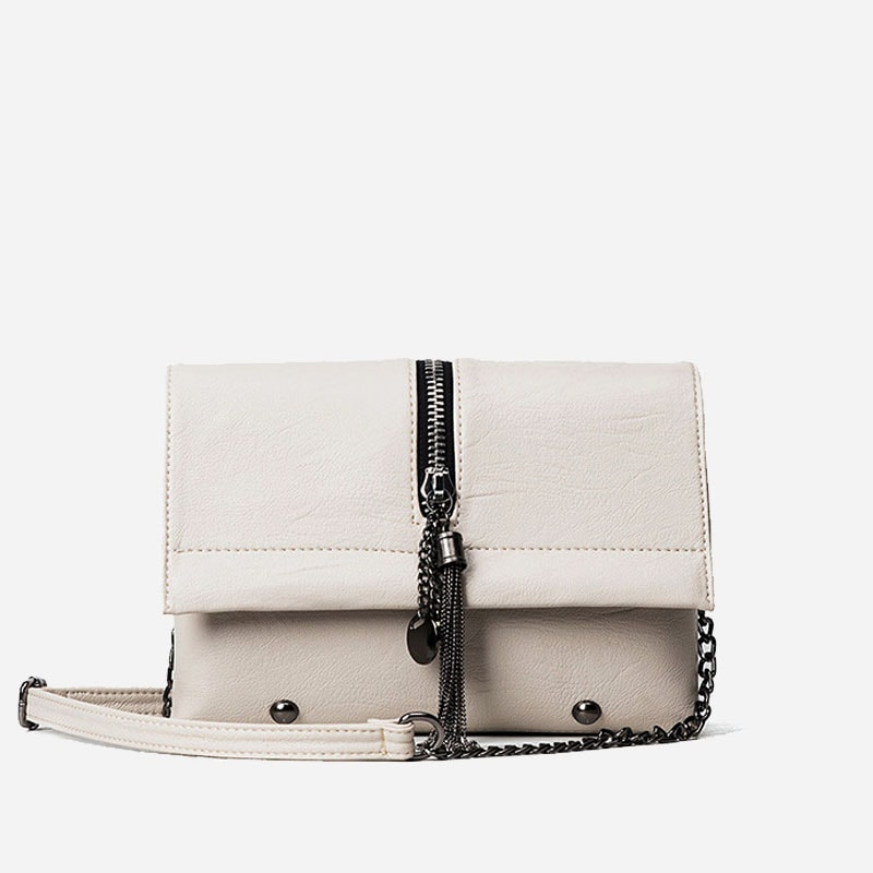 sac-besace-bandouliere-chaine-cuir-blanc