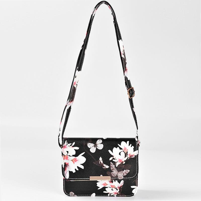 sac-besace-bandouliere-femme-noir-floral