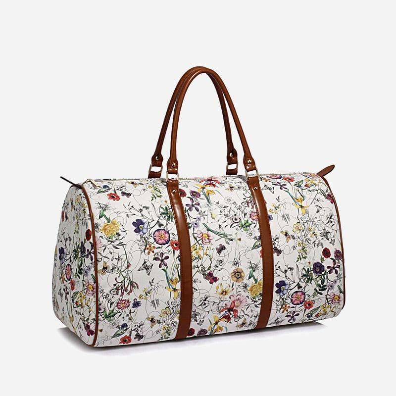 sac-voyage-48h-femme-toile-cuir-blanc