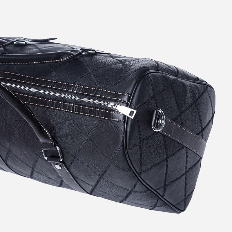 sac-weekend-48h-voyage-homme-cuir-noir-details2