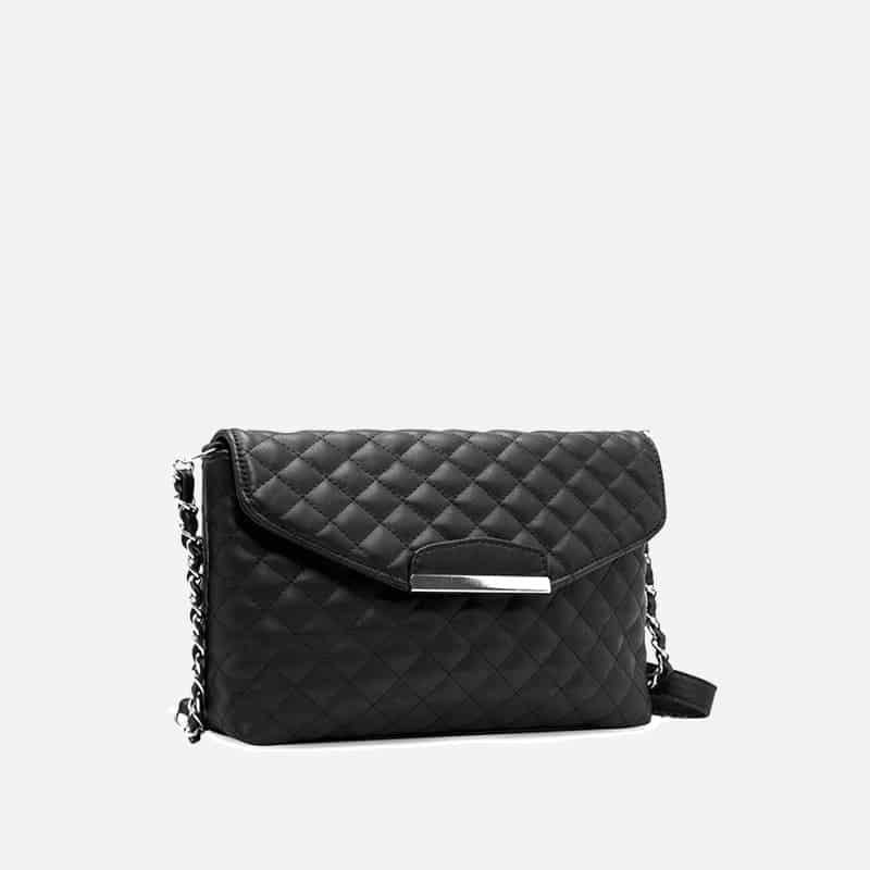 e4697acac6 ... petit-sac-bandouliere-femme-noir-Chainbag-classic-zoom1 ...