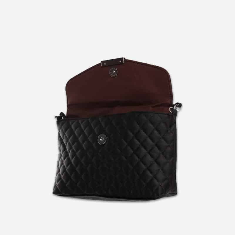 37adf49d809ae ... petit-sac-bandouliere-femme-noir-Chainbag-classic-zoom2 ...