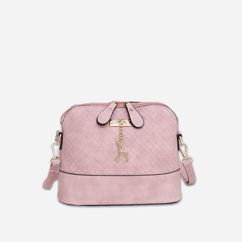 petit-sac-bandouliere-femme-rose-Cerfsbag-classic