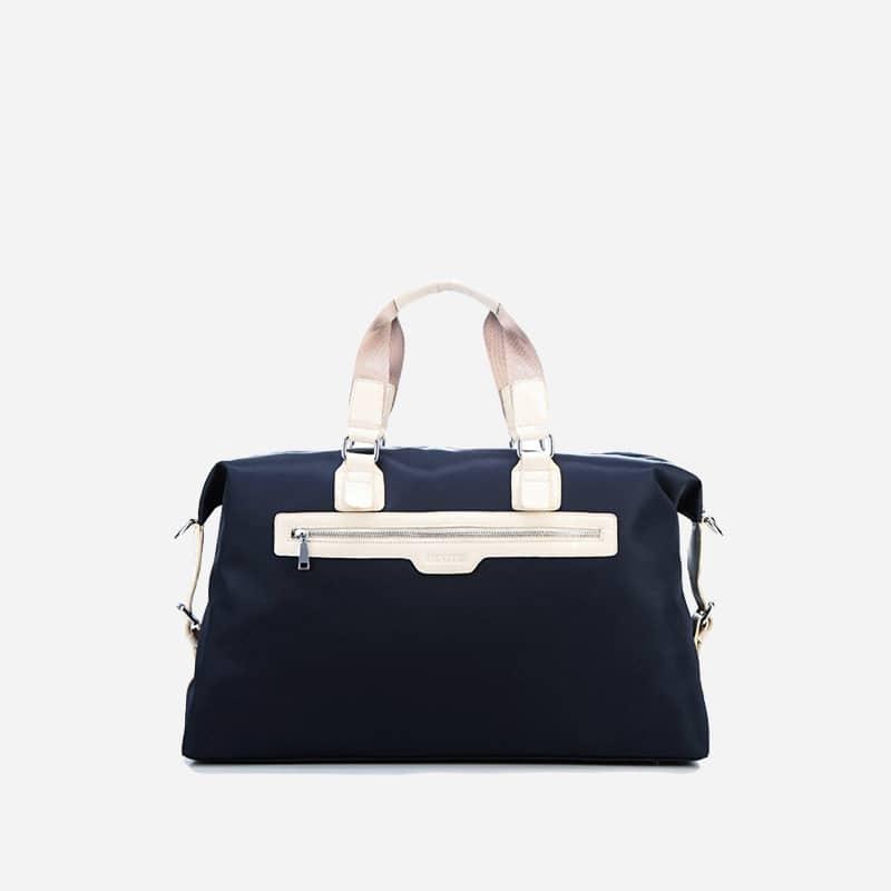 sac à main sacoche homme bleu Maibag Classic. Verso.
