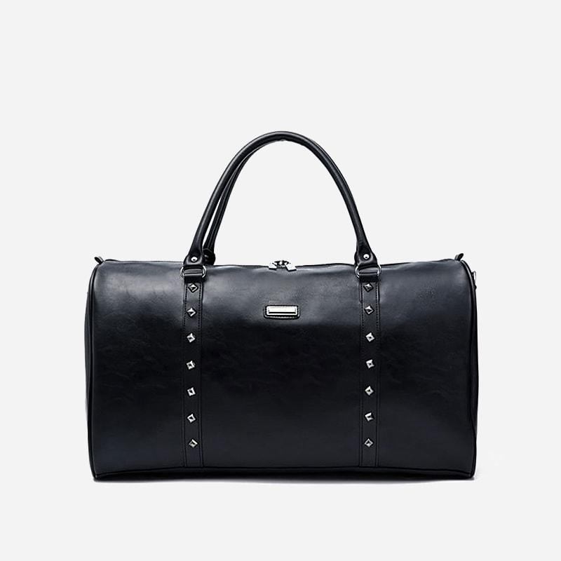 sac-voyage-cuir-noir-cloute-homme-bandouliere