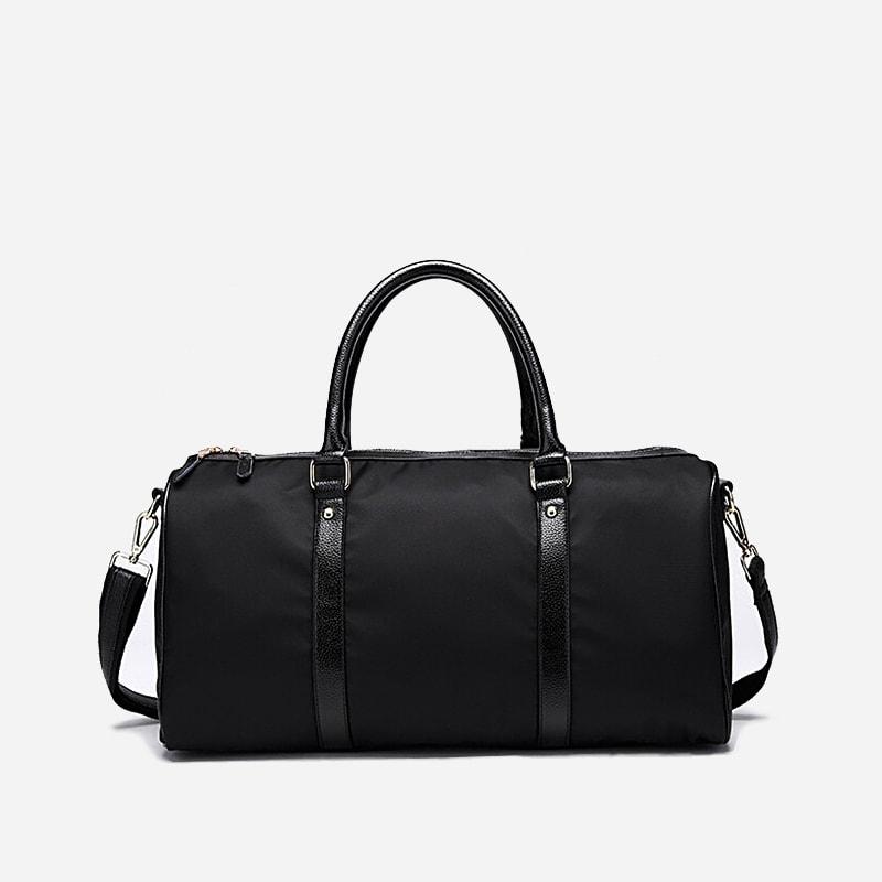 sac-voyage-48h-homme-nylon-cuir-noir