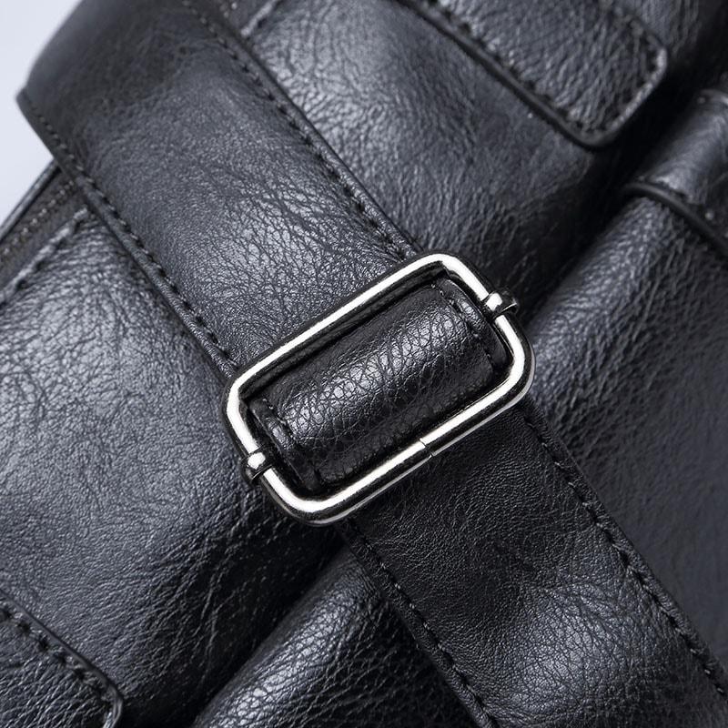sacoche-homme-cuir-noir-bandouliere-besace-rabat-details