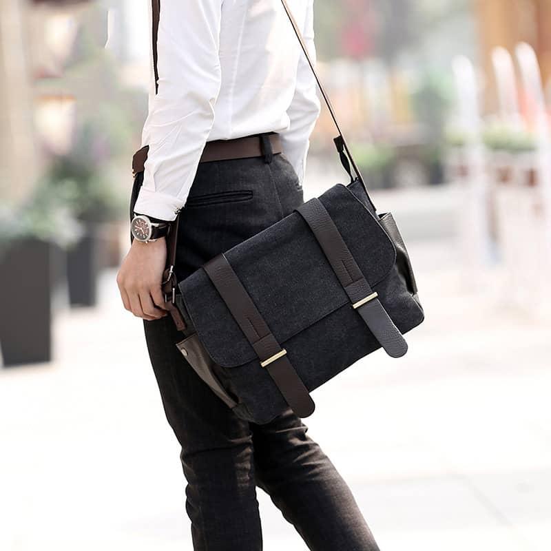 sac-besace-bandouliere-toile-cuir-noir-2