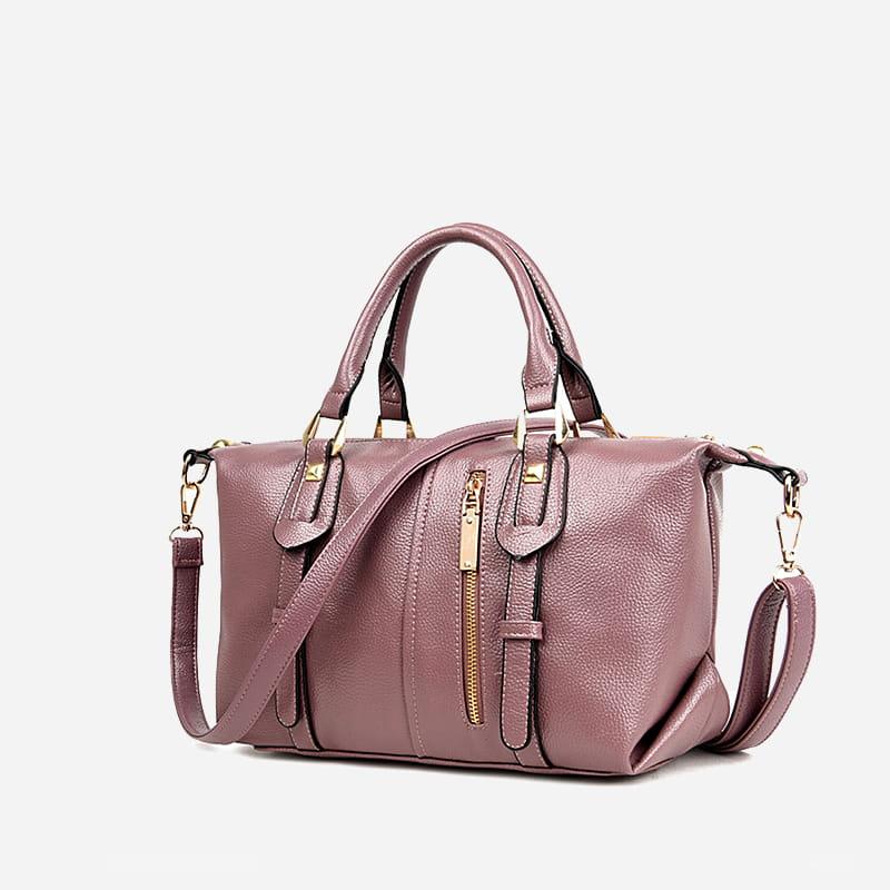 sac cabas pour femme en cuir avec languettes sac bandouli re. Black Bedroom Furniture Sets. Home Design Ideas