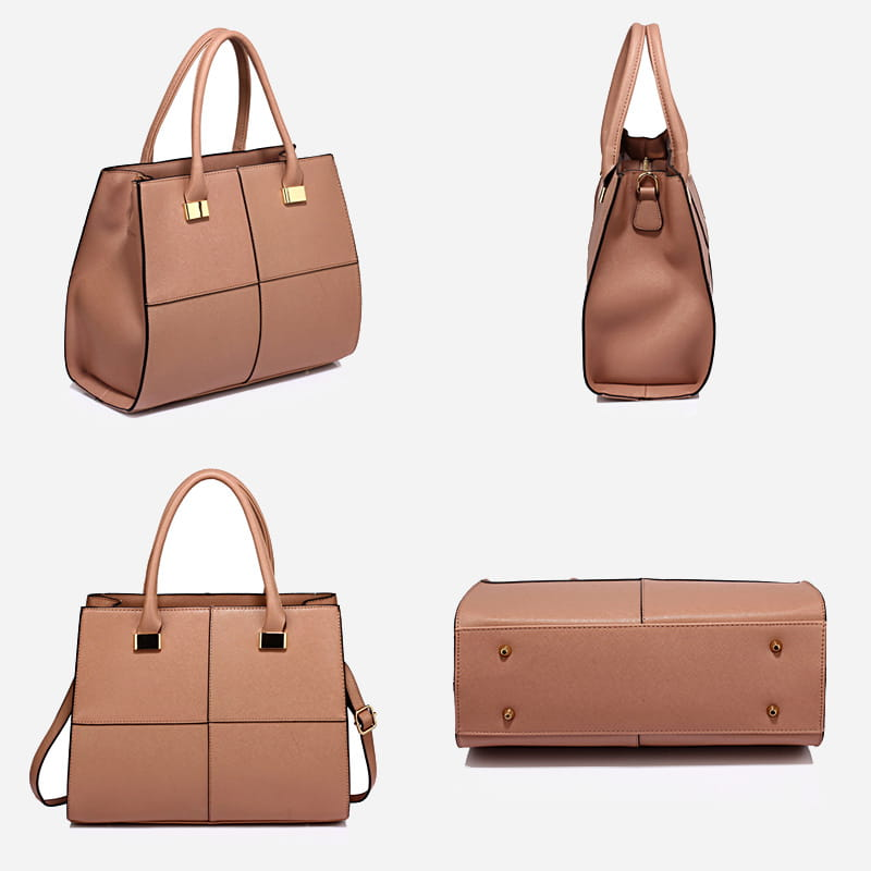 7439097c27 ... sac-cabas-femme-cuir-nude-details ...