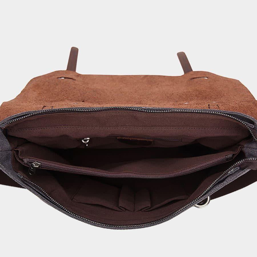 interieur-sacoche-besace-toile-cuir-veritable-noir-ardoise