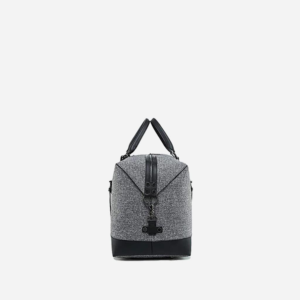 sac-voyage-toile-cuir-homme-femme-gris-noir-cote
