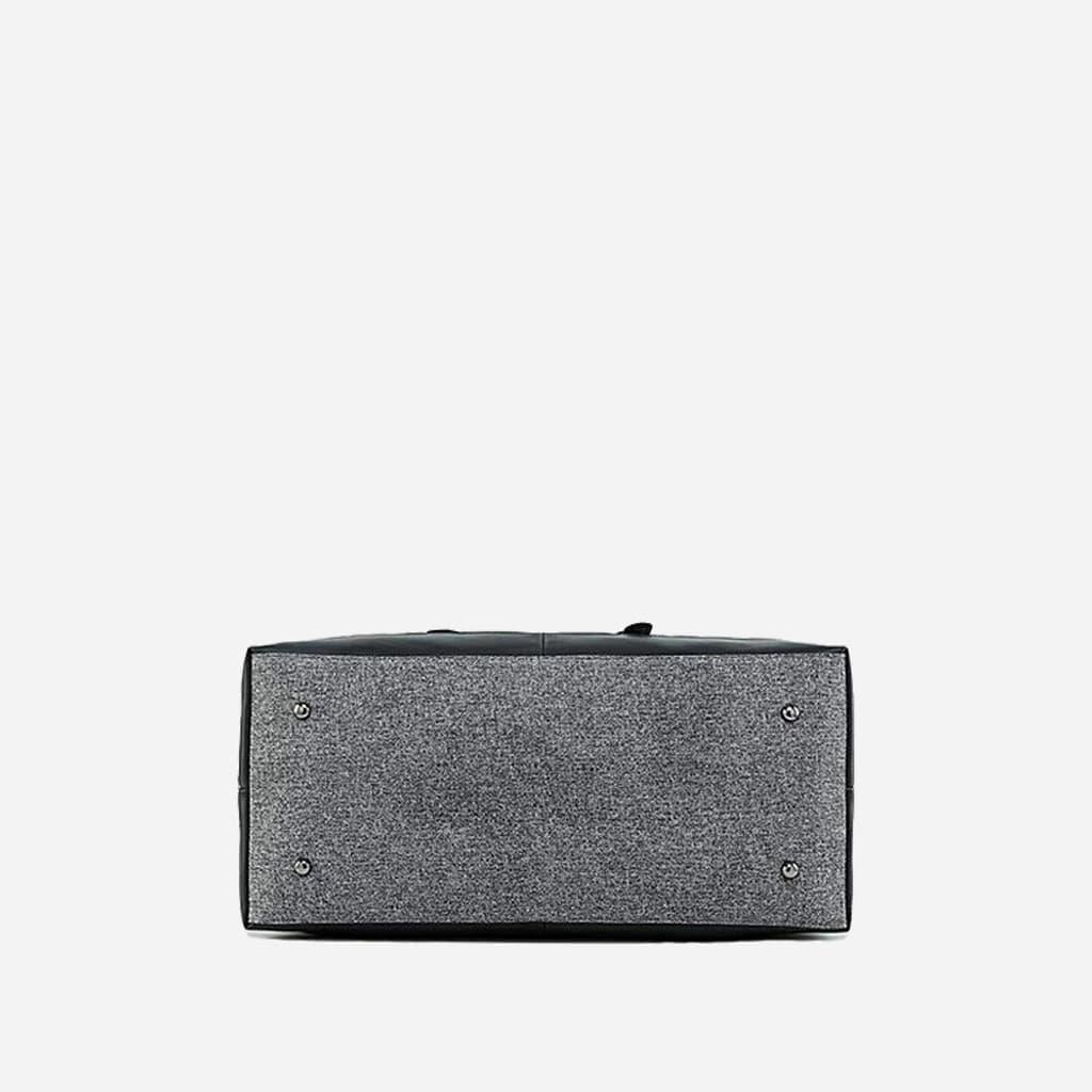 sac-voyage-toile-cuir-homme-femme-gris-noir-dessous