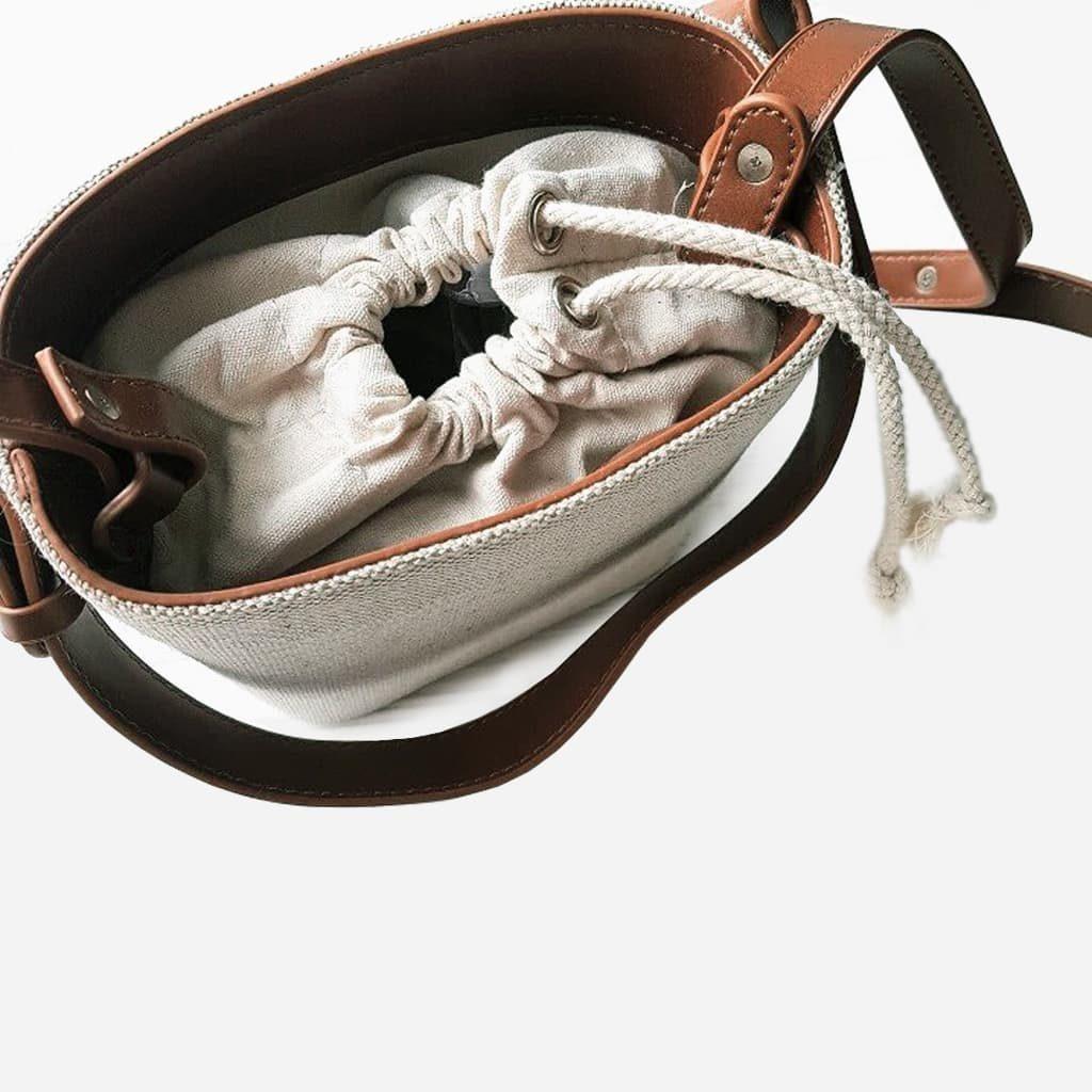 dessus-sac-seau-bandouliere-toile-cuir-marron-blanc-beige-S16139