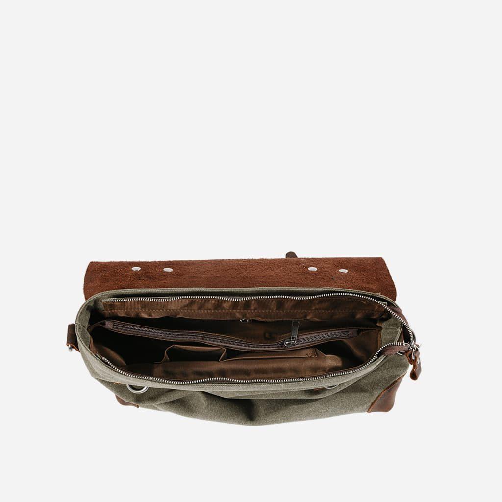 interieur-sacoche-besace-toile-cuir-veritable-vert-kaki-militaire-S15445