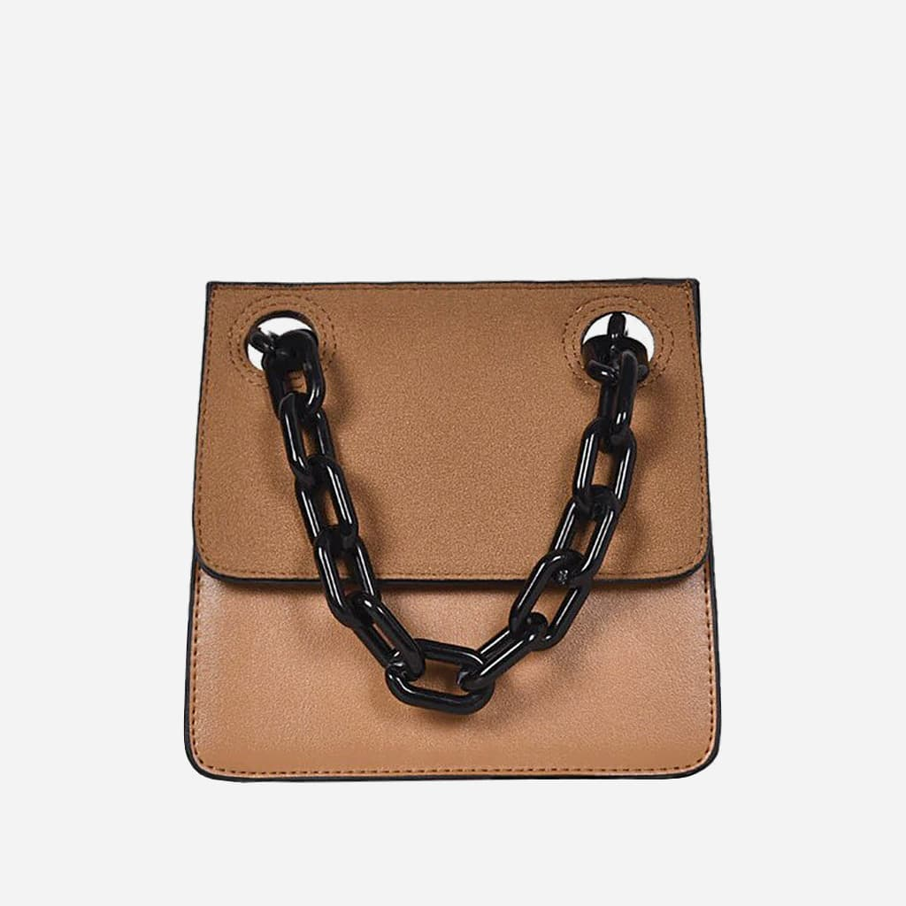 sac-besace-bandouliere-marron-chaine-noir-S14988